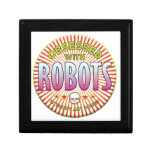 Robots Obsessed R Jewelry Boxes