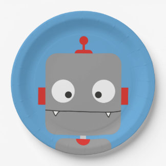 Robots Party Plates