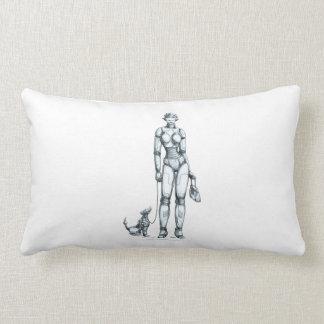 Robots Throw Pillows