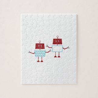 Robots Puzzle Con Fotos