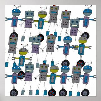 ¡Robots, robots, robots! Poster