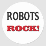 Robots Rock Stickers