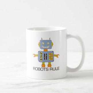 Robots Rule Coffee Mug