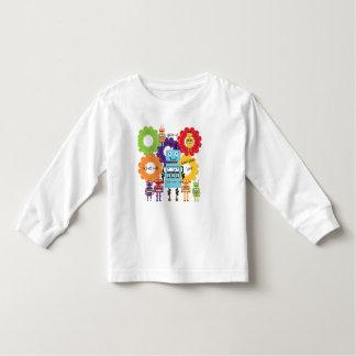 Robots Rule Toddler T-shirt