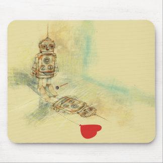 Robots & Sentiments Mouse Pad