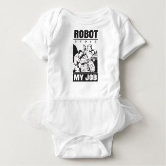 robots stole my job baby bodysuit