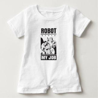 robots stole my job baby romper