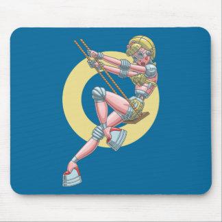 Robotta Clack -Swingin' Mouse Pad