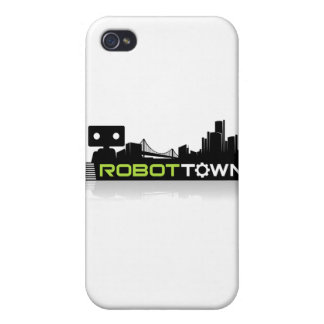 RobotTown Cases For iPhone 4