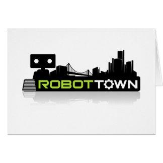 RobotTown Greeting Card