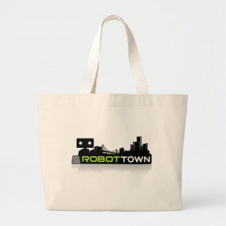RobotTown Jumbo Tote Bag