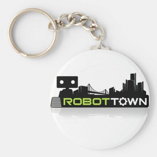 RobotTown Keychain