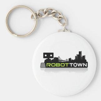 RobotTown Keychains