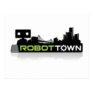 RobotTown Postcard