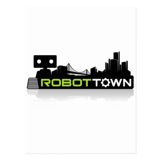 RobotTown Postcard