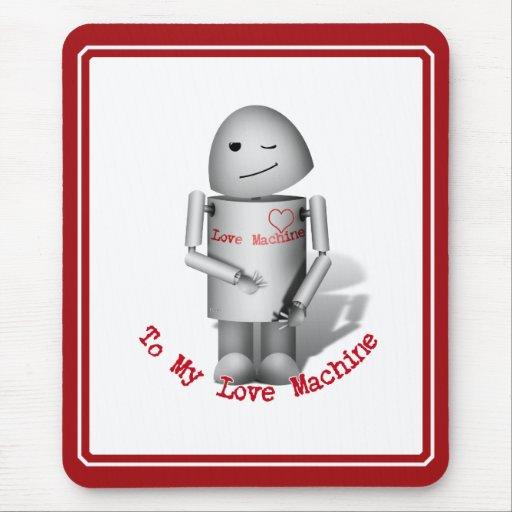 Robox9 - A mi máquina del amor Mouse Pads