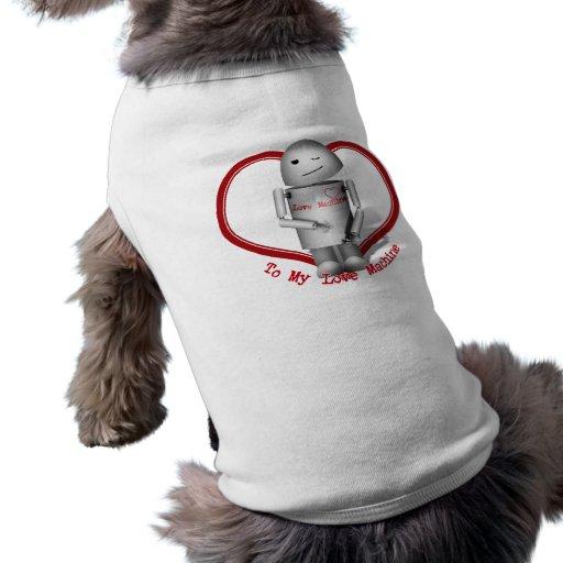 Robox9 - A mi máquina del amor Camisetas De Mascota