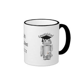 Robox9 -  Graduation Robot Ringer Mug