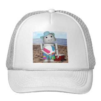 Robox9 has A Day at the Beach Trucker Hat