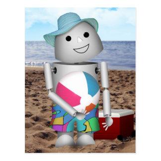 Robox9 has A Day at the Beach Postcard