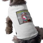 ¡Robox9 olvidó la protección solar! Camisetas Mascota