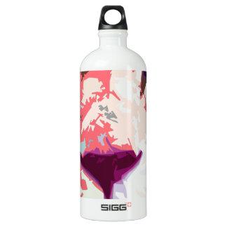 Robs cat aluminum water bottle