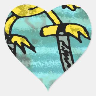 Robs little monster #2 heart sticker