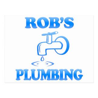 Rob's Plumbing Postcard
