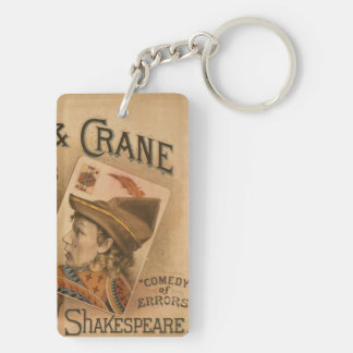 Robson & Crane - the Knaves of Shakespeare Double-Sided Rectangular Acrylic Keychain