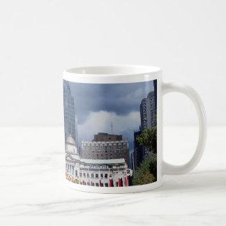 Robson Square city center Vancouver British Col Mugs