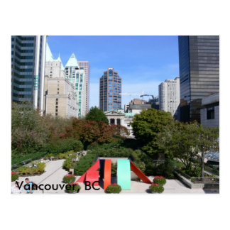 Robson Square Vancouver, BC Postcards