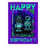 RoBubbles - RoBoT - Birthday Card
