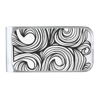 Robust Constant Successful Yes Silver Finish Money Clip