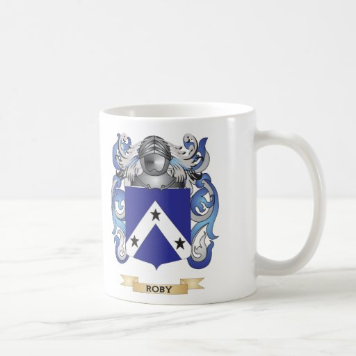 Roby Coat of Arms (Family Crest) Mug