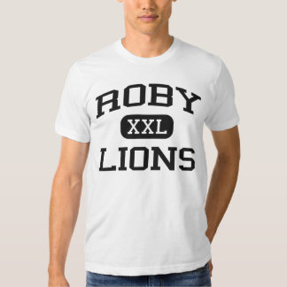 Roby - Lions - Roby High School - Roby Texas Tee Shirts