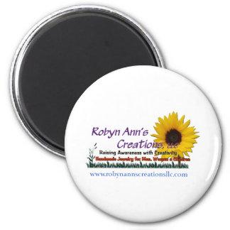Robyn Ann s Creations LLC Fridge Magnet