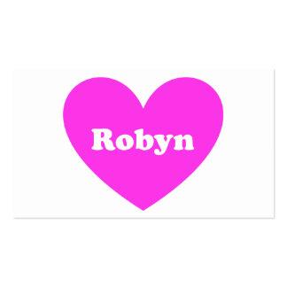 Robyn Business Card