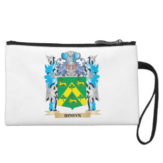 Robyn Coat of Arms - Family Crest Wristlet Purses
