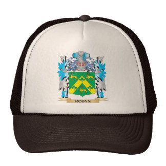 Robyn Coat of Arms - Family Crest Trucker Hat