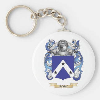 Robyn Coat of Arms (Family Crest) Basic Round Button Keychain