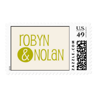 Robyn & Nolan Postage Stamps
