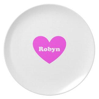 Robyn Platos De Comidas