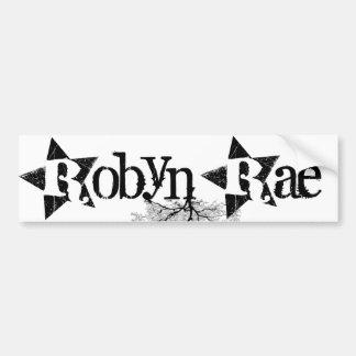Robyn Rae Pegatina Para Auto
