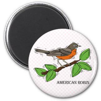 Robyn Robin Fridge Magnet