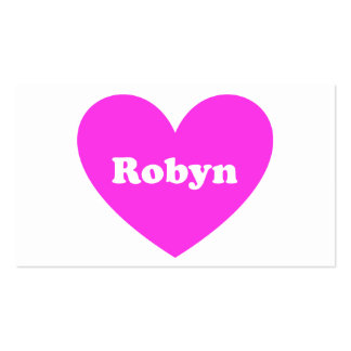 Robyn Tarjetas De Visita