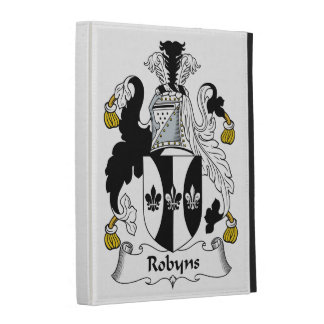 Robyns Family Crest iPad Folio Cover