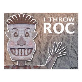 Roc Man Postcard