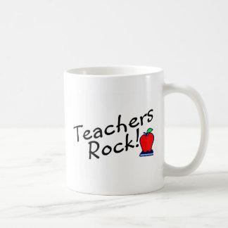 Roca 2 de los profesores taza clásica