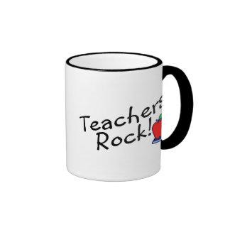 Roca 2 de los profesores taza de dos colores