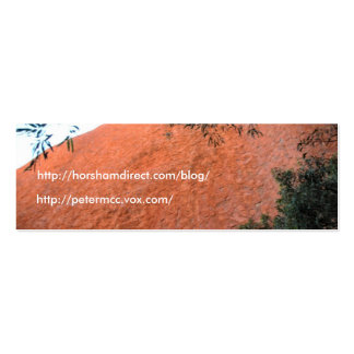 Roca 2, http://horshamdirect.com/blog/, h de Ayres Tarjeta De Visita